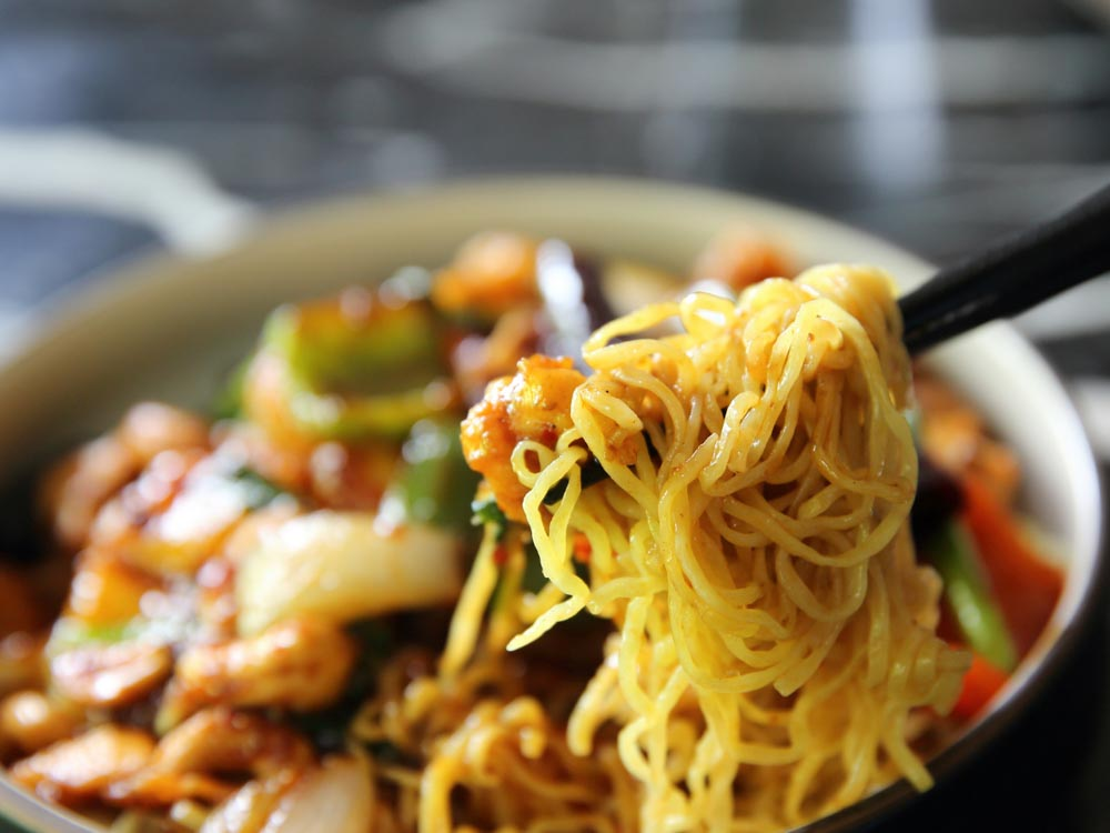Noodles are some of things China is famous for