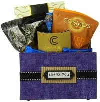 corporate gift basket for business client
