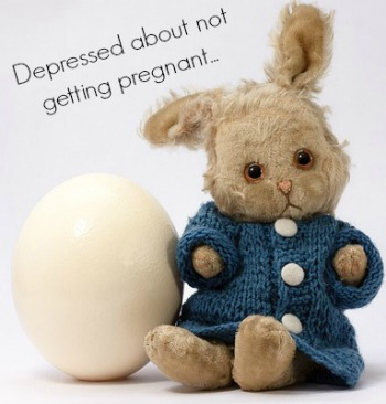Depression Not Getting Pregnant