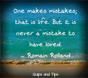 mistakes in relationships