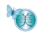 logo with butterfly