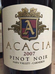 2007 Acacia Vineyard PinotNoir