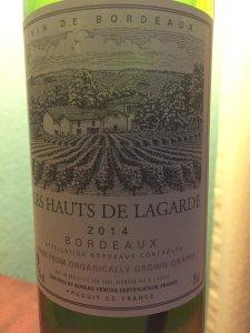 2014-LesHauts-de-Lagarde-Sauvignon Blanc-Semillon