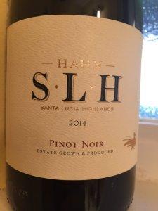 2014 Hahn SLH Pinot Noir