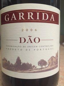 2006 Garrida Dao Portugal