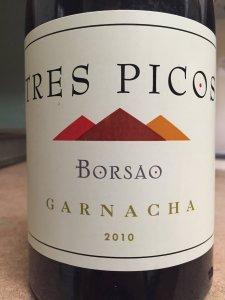 2010 Borsao Bodegas Tres Picos Garnacha