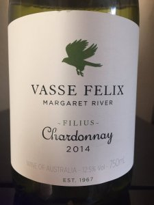 2014 Vasse Felix Margaret River Chardonnay