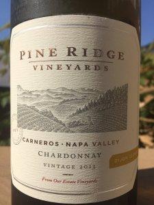 2013 Pine Ridge Carneros Chardonnay