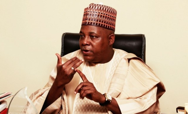 Fighting talk: 'We have won the battle, but not the war,' says Borno State governor Kashim Shettima.
