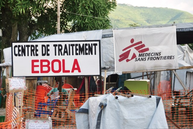 THE PLAGUE A treatment center established by Doctors Without Borders in Guéckédou, Guinea, a town near the original source of the outbreak.