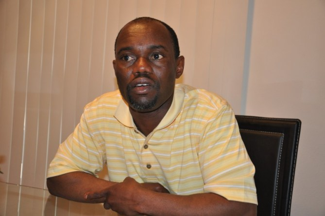 Pierre Collins. Photo (c) The AfricaPaper