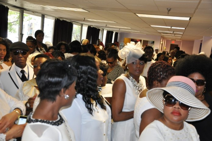 Many from the Liberia Community attended Barway's  funeral. Photo: Issa Mansaray |The AfricaPaper.