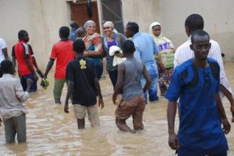 Kaduna, the flood displaced dozens of people. Photo: Mohammad Ibrahim/The AfricaPaper