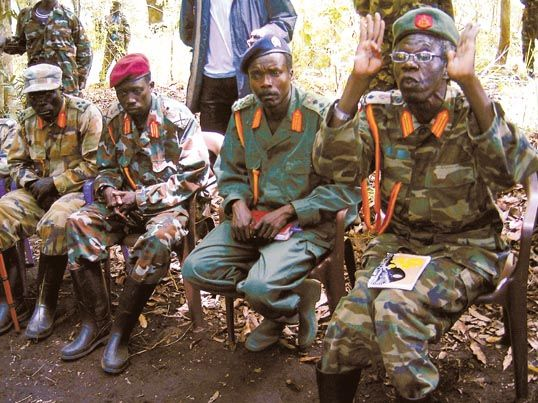 Kony and commanders