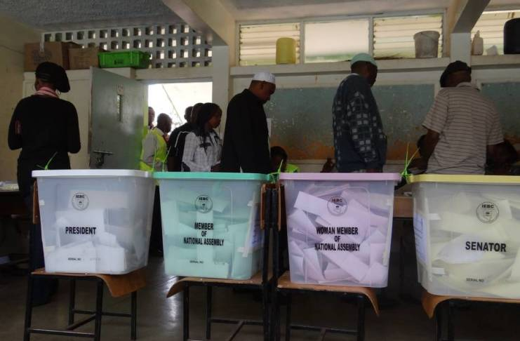 Voting pattern in Kenya's General Elections. Photo: Henry Ownio/The AfricaPaper