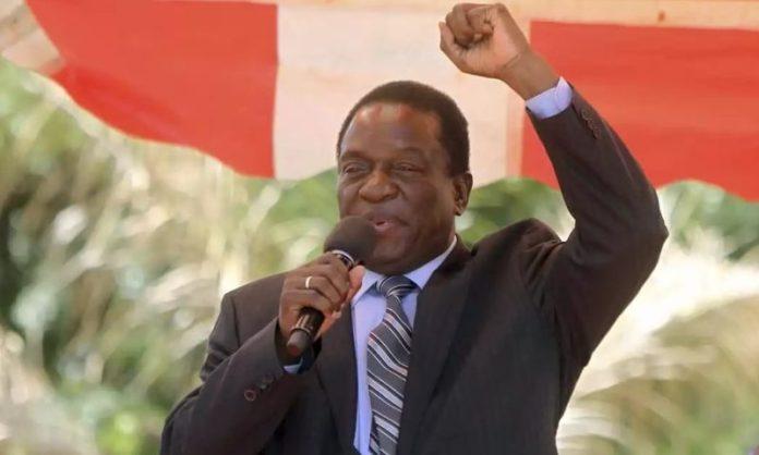 Zimbabwe's new President Emmerson Mnangagwa. Photo: Henry K. Mhango/The AfricaPaper