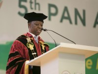 Hon. Roger Nkodo Dang, PAP President. Photo: Anthony A. K. Kamara / The AfricaPaper