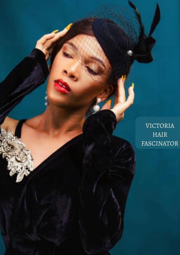 The Afrocentrics - VICTORIA HAIR FASCINATOR