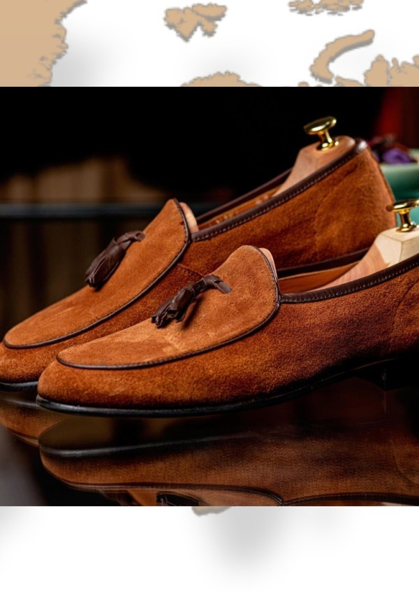 Fresh By Dotun Suede Tassel Loafers