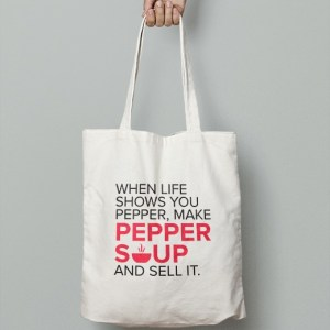 Peppersoup Tote Bag