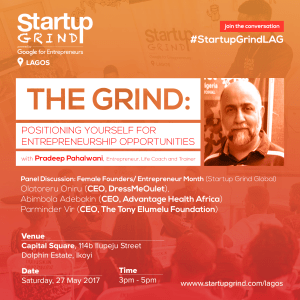 Startup Grind - Lagos Chapter (May 2017) Poster I