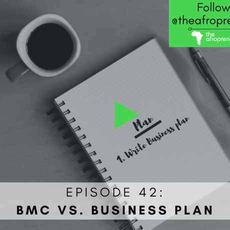 BMC-Business Plan Afropreneur POdcast Web