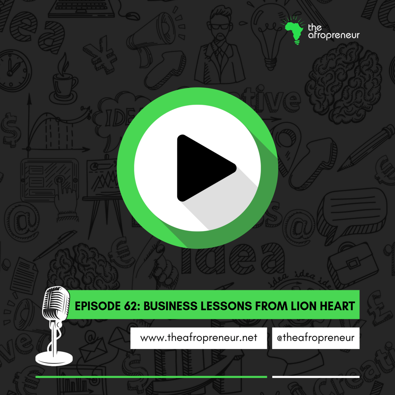 Ep62: Business Lessons from Lion Heart