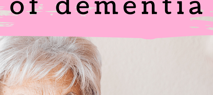 8 signs and symptoms of dementia