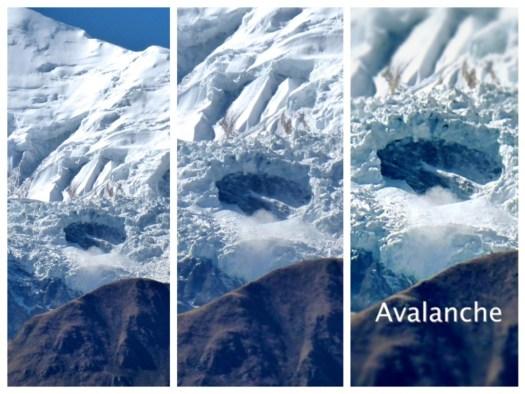Avalanche, Cheri Letdar, Nepal