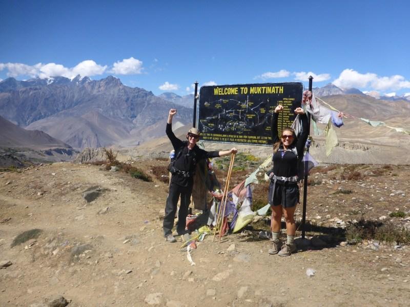 Made it to Muktanath Annapurna  Circuit Nepal