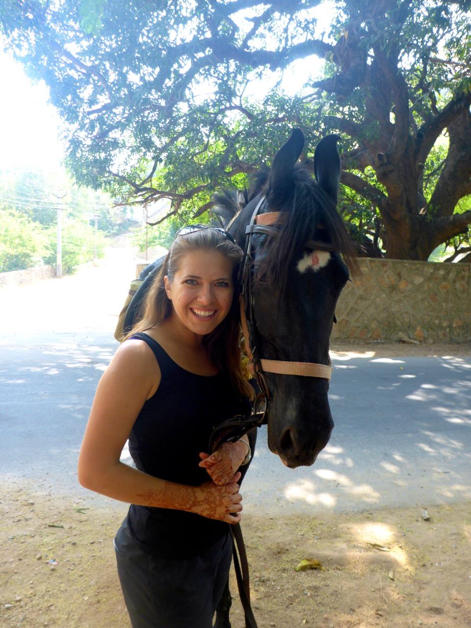Riding Black Beauty - Marwari Horses of India