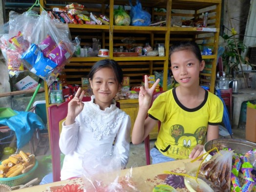 Making friends and Eating Dog in Vietnam