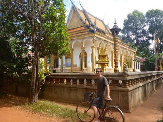 Biking around Siem Reap
