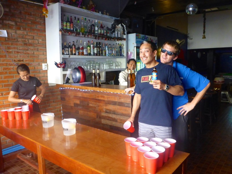 Chiang Mai, Thailand Beer Pong