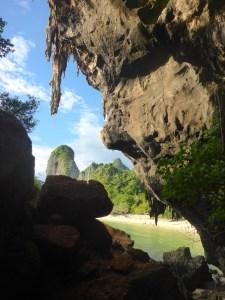 Cave Railay Beach, Krabi, Thailand