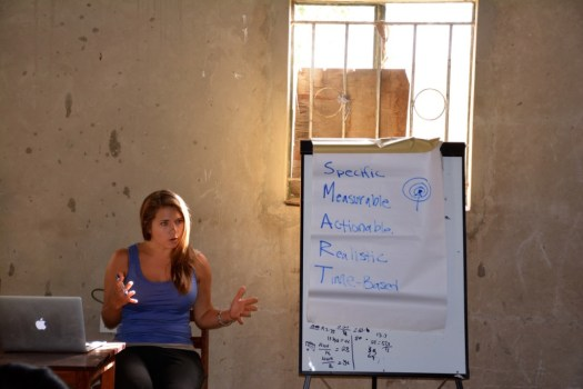 South Sudan - teaching