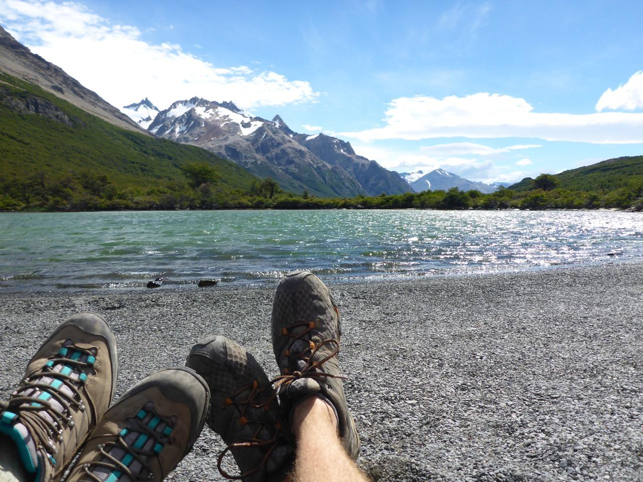 Lago Hija, El Chalten, Patagonia, Argentina
