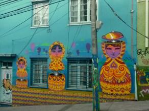 Graffiti art of Valparaiso, Chile