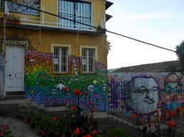 Graffiti art of Valparaiso, Chile