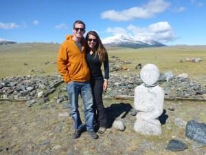 I see dead people; Western Mongolia