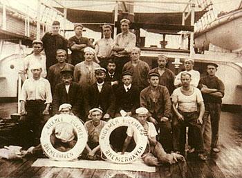 Die Mannschaft der Rickmers Werft