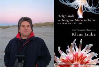 Ausstellung von Klaus Janke auf Helgoland