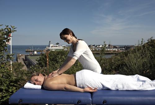 Hotel Rickmers Insulaner, Massage