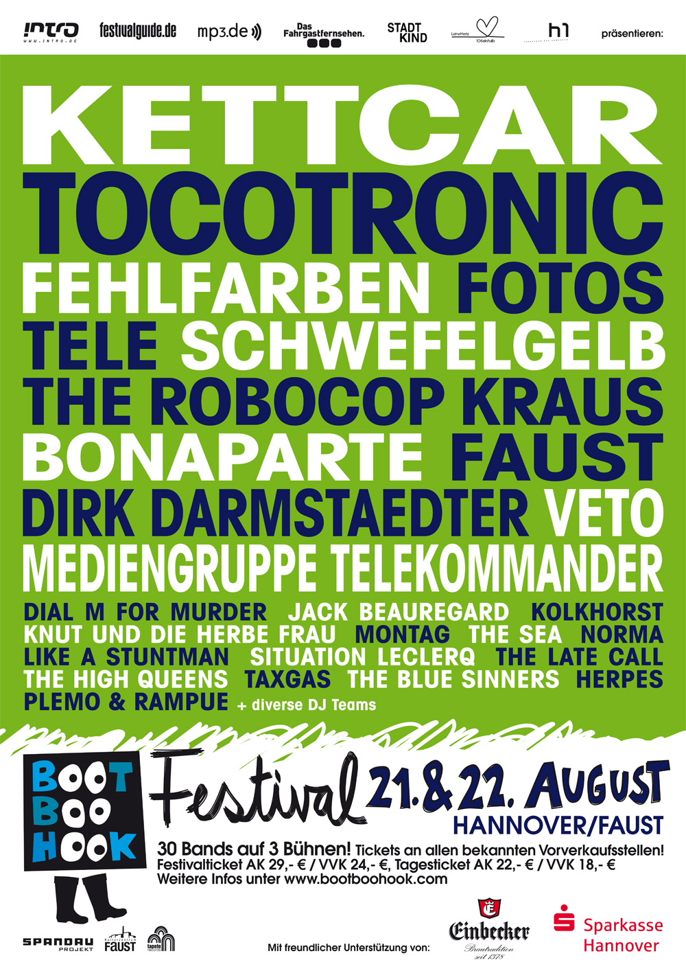 BootBooHook-Festival in Hannover, August 2009