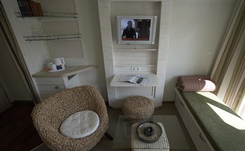 Hotel Rickmers Insulaner Helgoland - Eine weitere Zimmeransicht