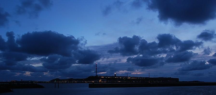 """Wetter-Foto """"Helgoland bei Nacht"""" von Deichgraf, gesehen bei wetter-foto.de"""