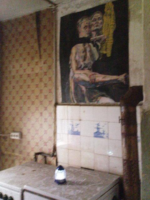 Gängeviertel - Namen des Künstlers nicht erkannt, sorry.
