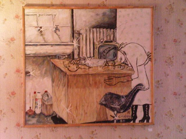 Gängeviertel - Bild von E. oder C. Ahlering
