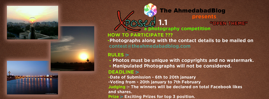 Xposed January 2013 by The Ahmedabad Blog