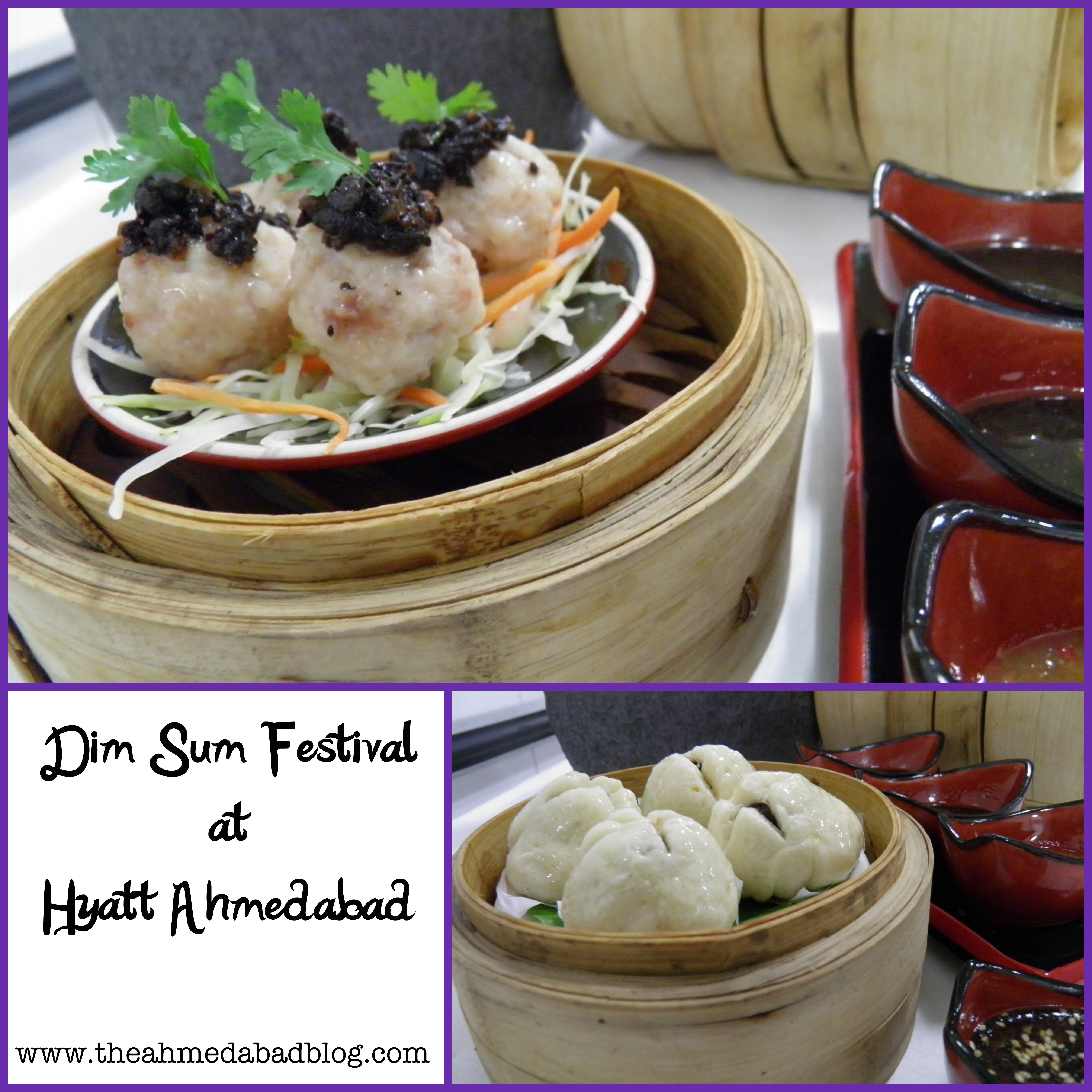 "Hyatt Ahmedabad promises you an sumptuous journey through the fascinating world of dim sum at the ""DIM SUM FESTIVAL"""